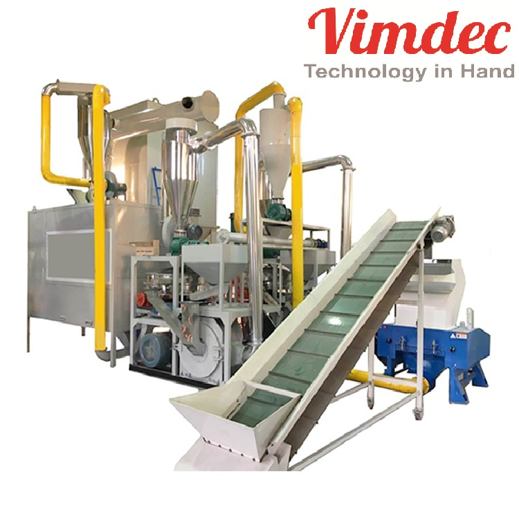 Supply Waste Scrap Solar Cell Lithium Battery Aluminum Plastic Separator/cell Phone Lithium Battery Recycling Machine in Vietnam